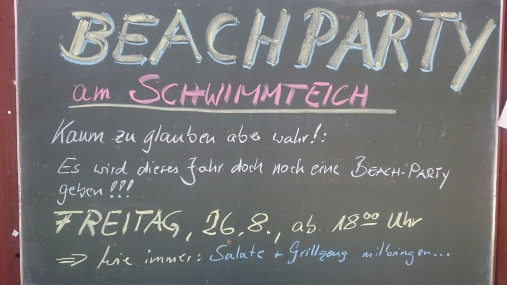 Beachparty 2016